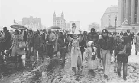 The march in Washington on 15 Jan 1981 to publicise Martin Luther King Day.