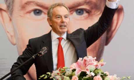 Tony Blair Promotes The Chinese Translation Of His Autobiography