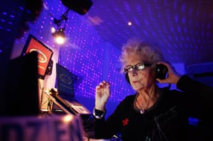 Week in music: DJ Wika Szmyt plays music at a club in Warsaw