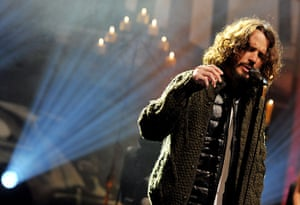 Week in music: Chris Cornell performs on the Tonight Show With Jay Leno
