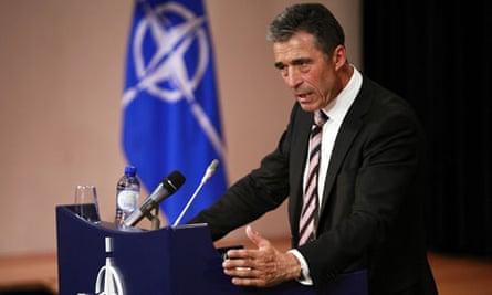 NATO Secretary General Rasmussen
