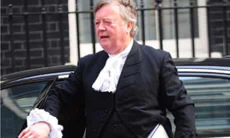Ken Clarke, justice secretary, UK
