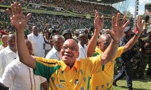 Jacob Zuma, ANC 100th birthday