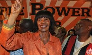 Jamaican prime minister Portia Simpson Miller.