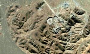 Uranium enrichment facility near Qom