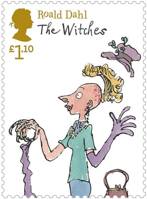 Roald Dahl stamps: The Witches