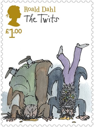 Roald Dahl stamps: The Twits