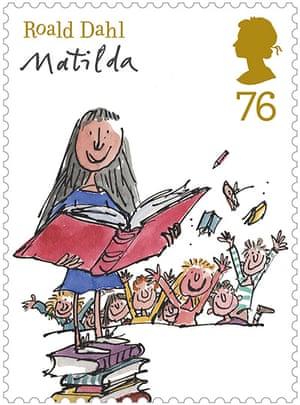 Roald Dahl stamps: Matilda