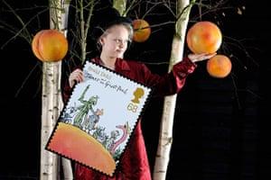 Roald Dahl stamps: Milly Purser