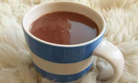 Felicity's perfect hot chocolate