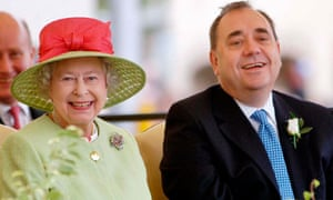 The Queen and Alex Salmond 30/6/07