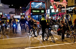 Bike's Alive protest: Bike's Alive protest