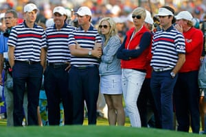 golf18: U.S. golfers and wives