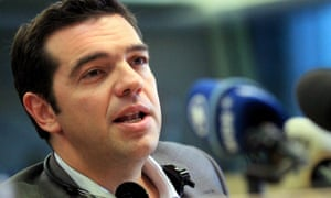 Alexis Tsipras, leader of the Greek opposition