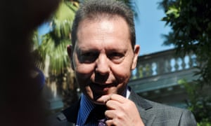 Greece's finance minister Yiannis Stournaras