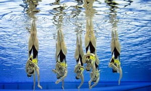 Sychronised swimming