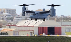 A US MV-22 Osprey