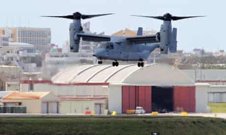A US MV-22 Osprey