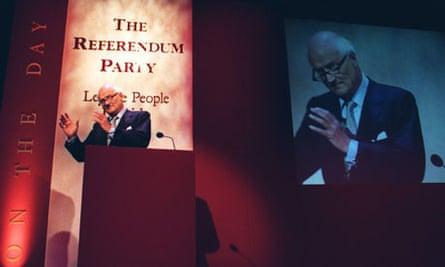 James Goldsmith Referendum party
