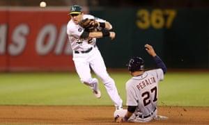 Jhonny Peralta, Detroit Tigers vs Oakland Athletics