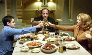 Dinnertime at the Sopranos'
