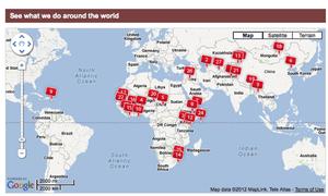 Red Cross overseas work