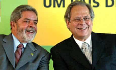Luiz Inácio Lula da Silva and José Dirceu