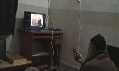 A man believed to be Osama bin Laden