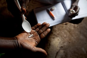 Sightsavers in Nigeria: Prevention of river blindness in Kaduna