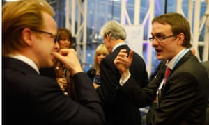 A fringe reception at the Conservative party conference