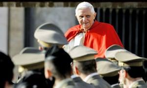Pope Benedict XVI leaves St. Peter's squ