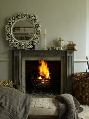 Homes: Russain House: Fireplace