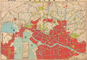 Maps: Map of Tokyo