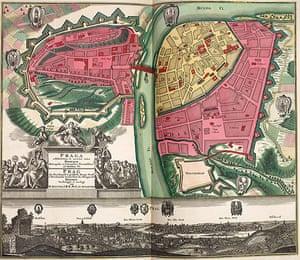 Maps: Map of Prague
