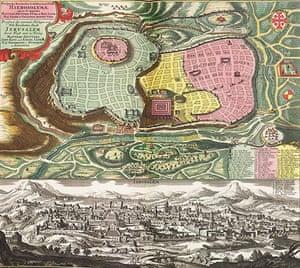 Maps: Map of Jerusalem