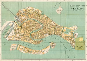 Maps: Map of Venice
