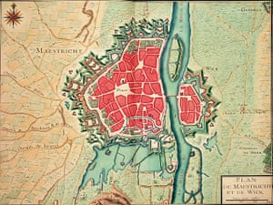Maps: Map of Maastricht