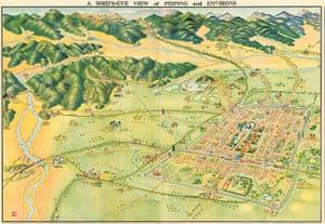 Maps: Map of Beijing