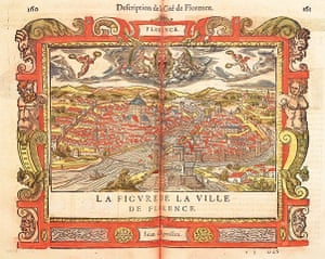 Maps: Map of Florence