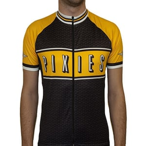 crazy pop merchandise: Pixies cycling jersey