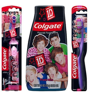 crazy pop merchandise: One direction toothbrush