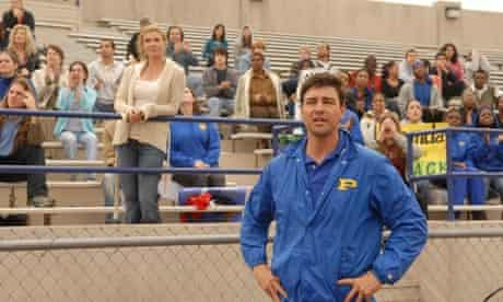 Friday Night Lights, Connie Britton and Kyle Chandler, as Tami and Coach Eric Taylor