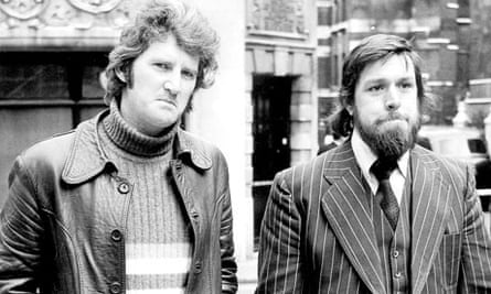 Des Warren and Ricky Tomlinson, the Shrewbury Two