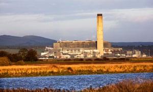 Longannet power station in Fife