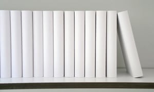Read all about it? Blank books are pictured at the 64th Frankfurt book fair.