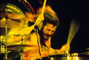 Led Zeppelin: John Bonham at the Inglewood Forum in Los Angeles, California