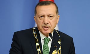 Turkish prime minister Recep Tayyip Erdogan said intercepted plane was carrying military equipment