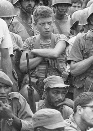 Cuban missile crisis : Members of the Cuban militia