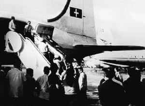 Cuban missile crisis : The coffin of Major Rudolf Ande