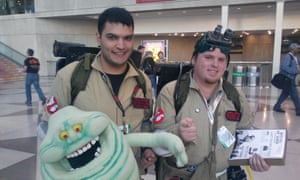 Ghostbusters at New York Comic Con